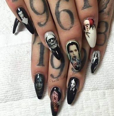 24 best nails images on pinterest nail scissors heels and wicked nail art insanely talent deadchicksarecool prinsesfo Choice Image