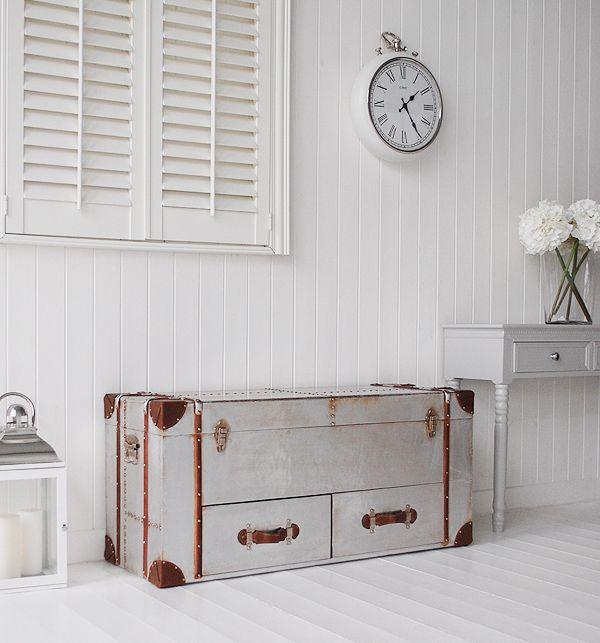 White Hallway Storage Furniture: Grey And White Hall Furniture With Storage From The White