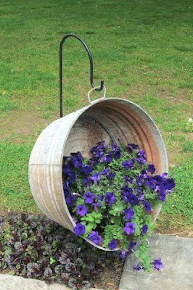 Antique Wash Tub Decorating Ideas Old Fall Decor Outside