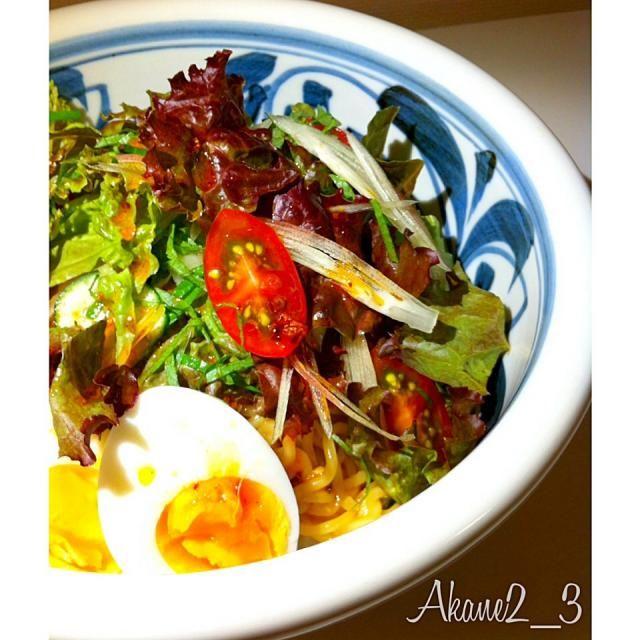 野菜たっぷり。 - 20件のもぐもぐ - 汁なし担々麺 by akane213