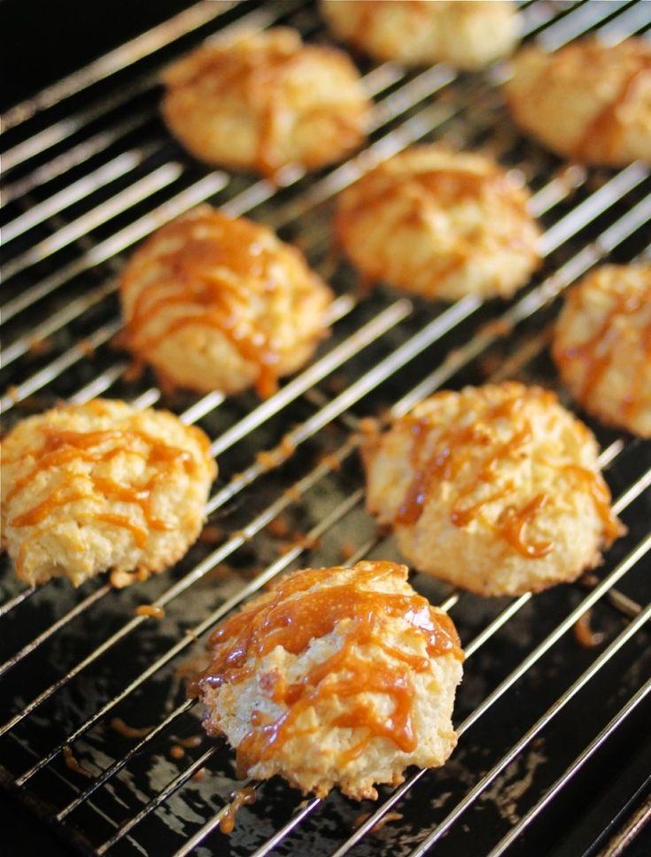 Salted Caramel Macaroons | forbidden rice blog | Pinterest