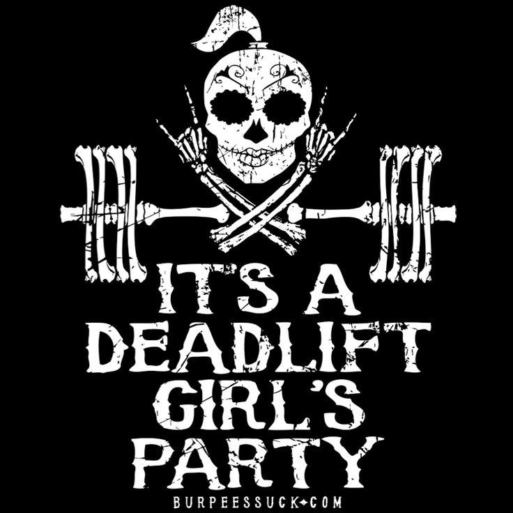 DEADLIFT PARTY - BurpeesSuck.com Halloween Gear