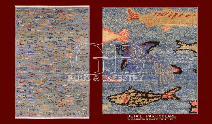 Fish rug Woven Legends 141405657655 183 x 270