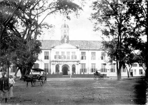 Het Stadhuis Van Batavia 1890 - 1900
