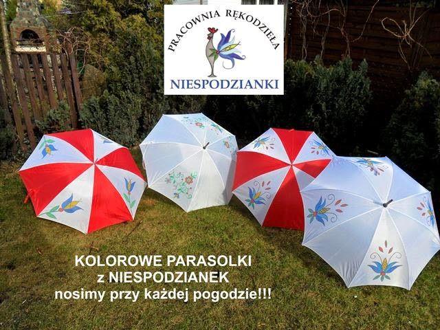 N I E S P O D Z I A N K I: Parasolki