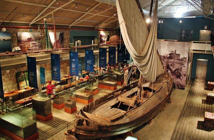 Museo de Pesca en Palamós en el Bajo Ampurdán en la Costa Brava