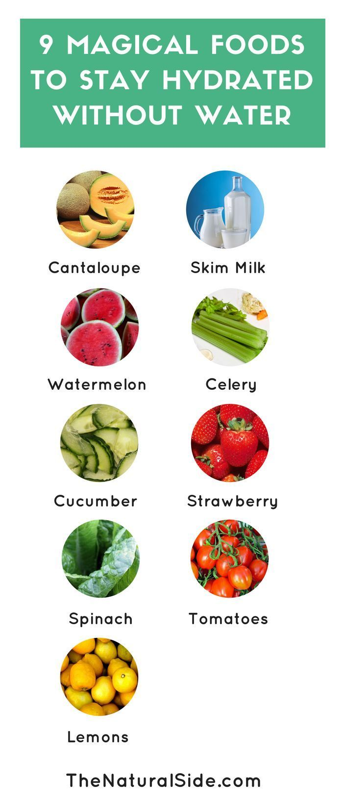 9 Magical Foods To Stay Hydrated Without Water How To Hydrate Your Body With Water Rich Foods Waterrich Healthy Hydration Healthy Food Guide Stay Hydrated