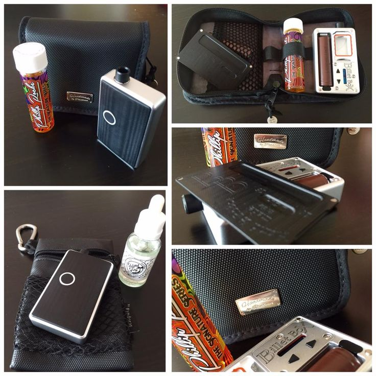 Pandoras Box mod case + Silok pouch.