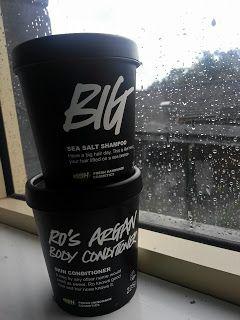 Lush Big Shampoo & Ro's Argan Body Conditioner