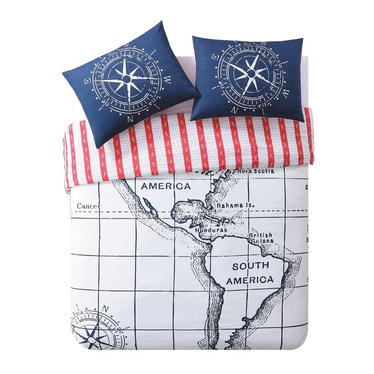 Nautical 100% Cotton Duvet Set