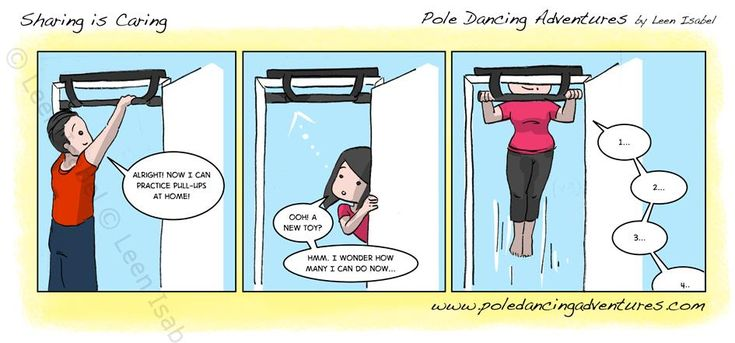 SHARING IS CARING - POLE Dancing Adventures by Leen Isabel