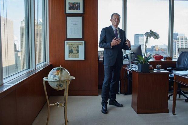 Morgan Stanleys Aussie CEO James Gorman is the Wall Street