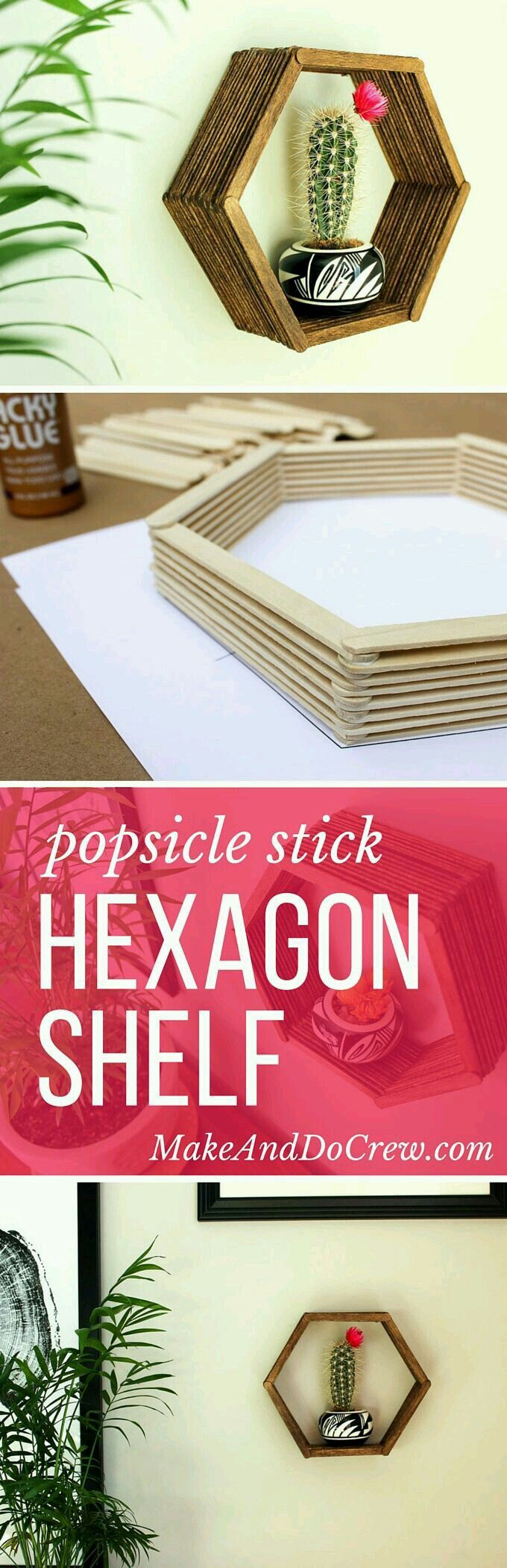 hexagon shelf.