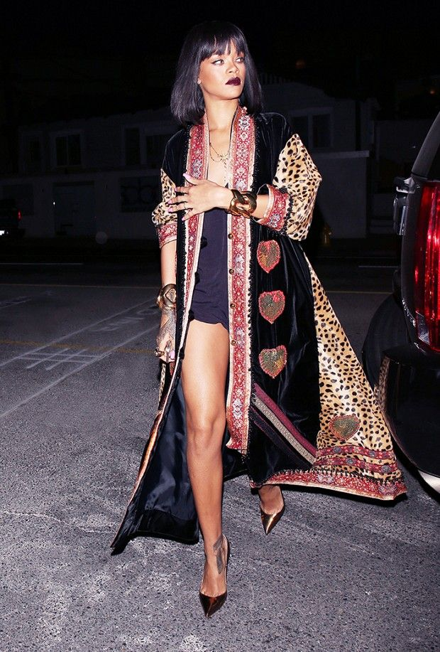 this outfit is v e r y important. rihanna. vintage. bohemian. l o v e