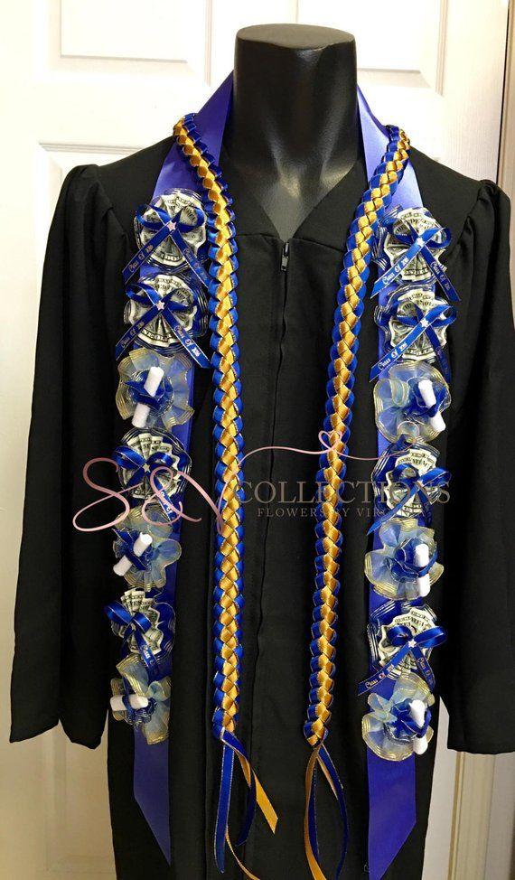 Graduation money lei-custom made with your school …