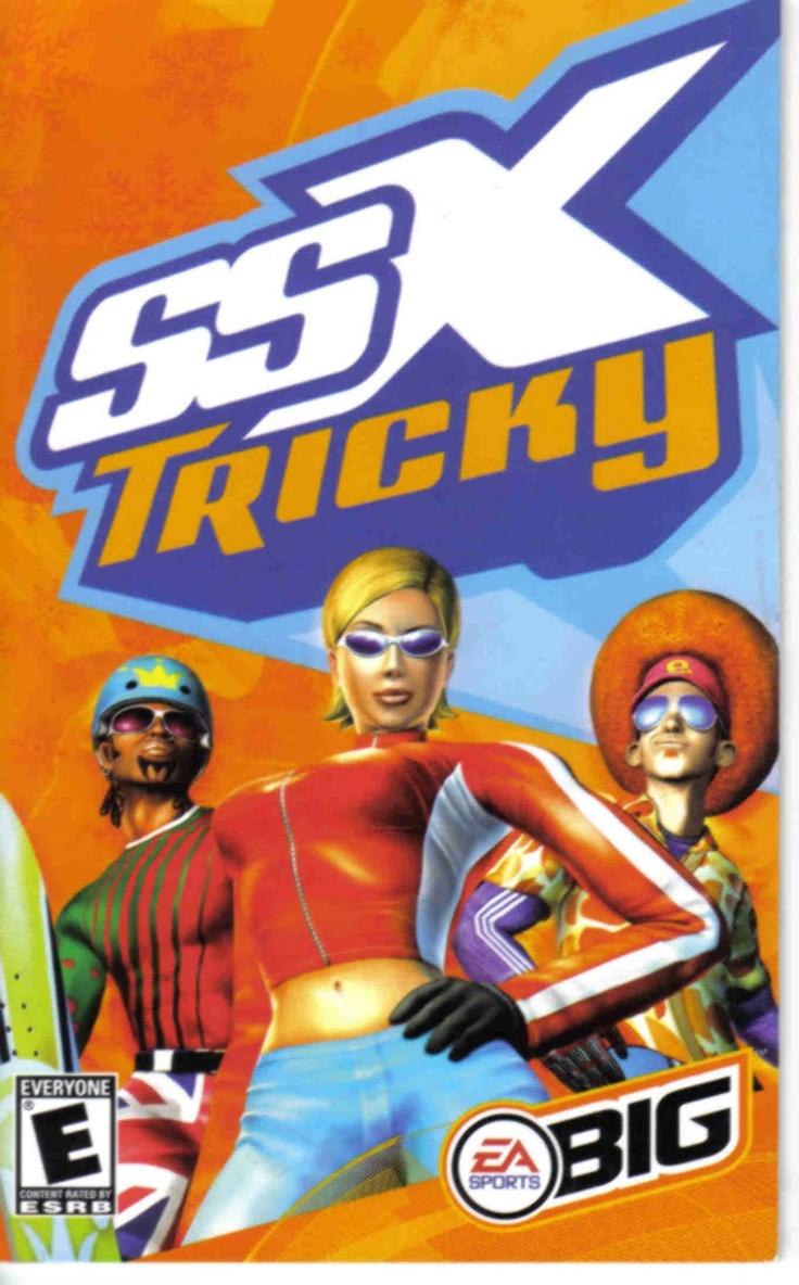 SSX Tricky. Van deze game krijgen de medewerkers jeugdsentiment!