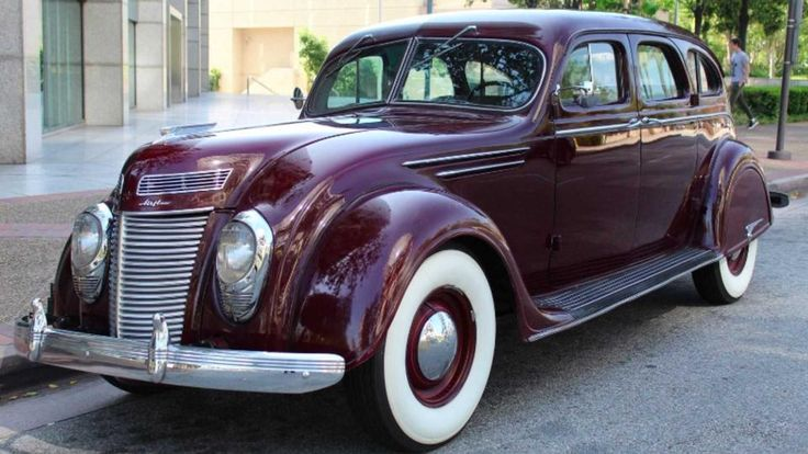 Incredible 1937 Chrysler Airflow Offers Some Serious History #Klasik