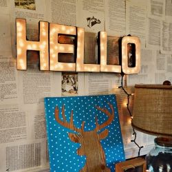 Easiest way to make a lighted letter sign. Trust me.