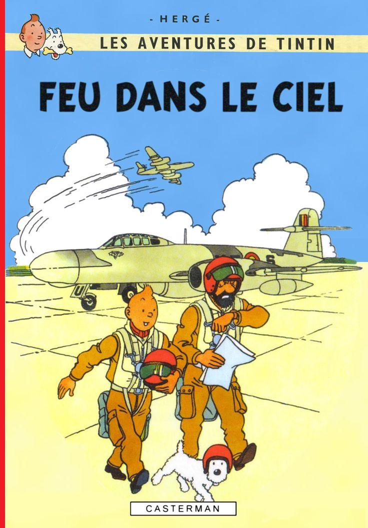 Les Aventures de Tintin - Album Imaginaire - Feu dans le Ciel
