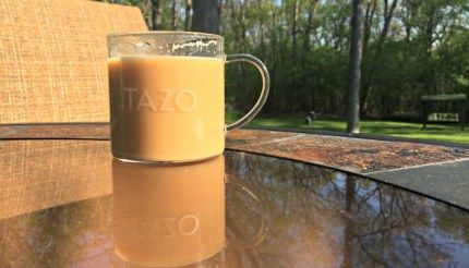 Just Found My New Escape with TAZO Chai