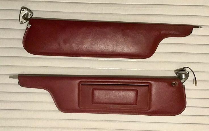 19731979 ford truck bronco burgundy sun visors lighted