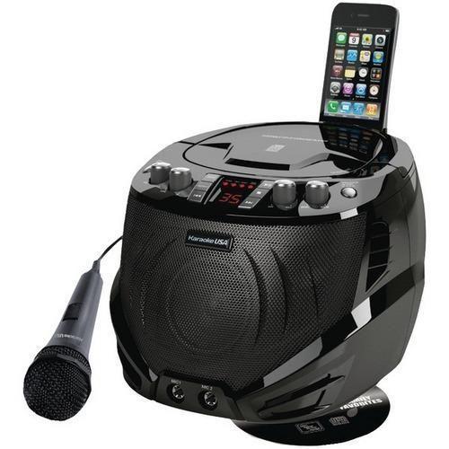 Karaoke USA(TM) GQ262 Portable CD+G Karaoke Player R810-JSKGQ262