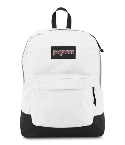 JanSport Black Label Superbreak Backpack - White