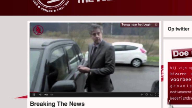 Case Video Breaking the News. #transmedia #storytelling