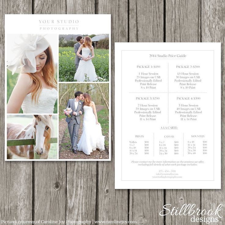 16 best Wedding Photography Pricing images on Pinterest - photography services contract