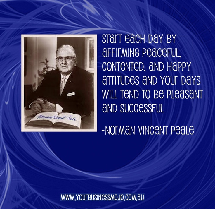 The Power Of Positive Thinking Quotes Norman Vincent Peale: 1000+ Images About Citations