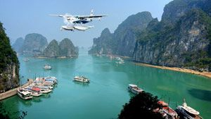 Halong Bay is without doubt one of the most majestic and stunning areas of natural beauty in Southeast Asia. Abercrombie & Kent's 'Halong Bay by Seaplane' slashes the travel time from Hanoi, allowing you to save precious time while enjoying an aerial view of the UNESCO site as well.