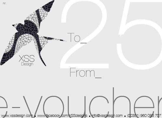 Gift e-voucher ? 25