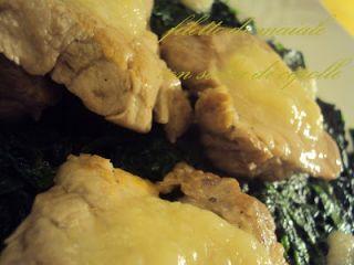 Filetto di maiale con salsa di cipolle