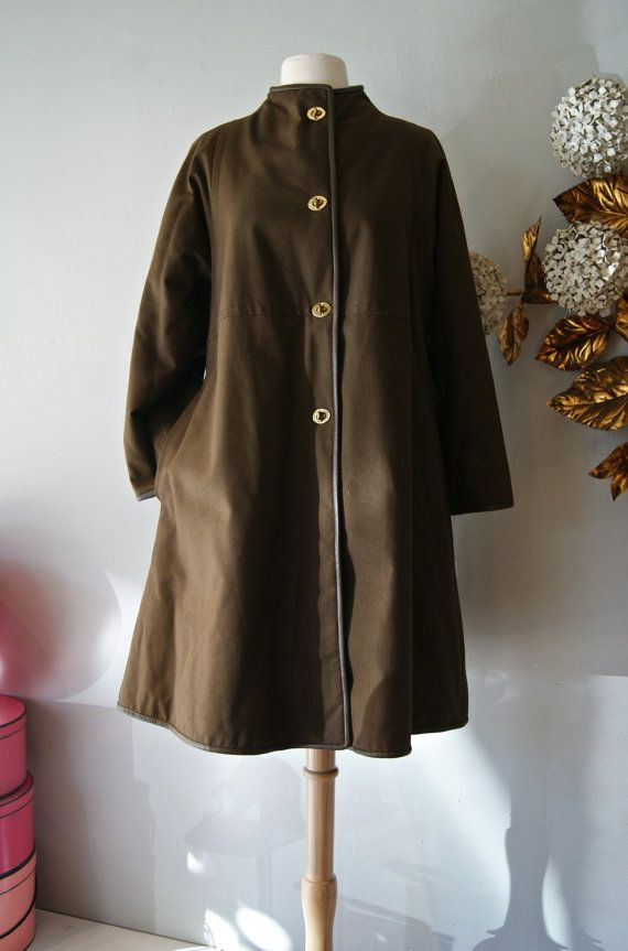 Vintage Bonnie Cashin Coat // 60s NOS Bonnie by xtabayvintage, $398.00