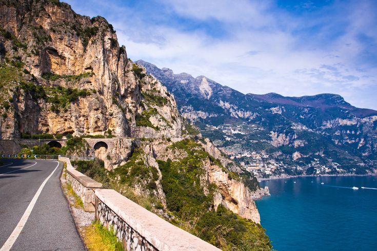 The famous Amalfi coast road!
