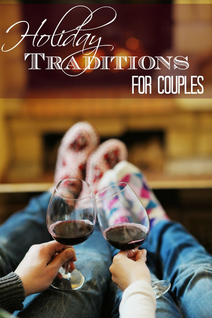 Holiday traditions are important for families but also for couples.