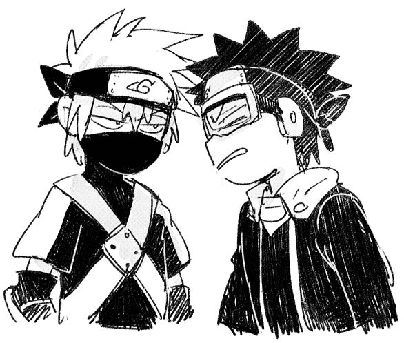 Kakashi and obito :D