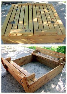 Make a sand box