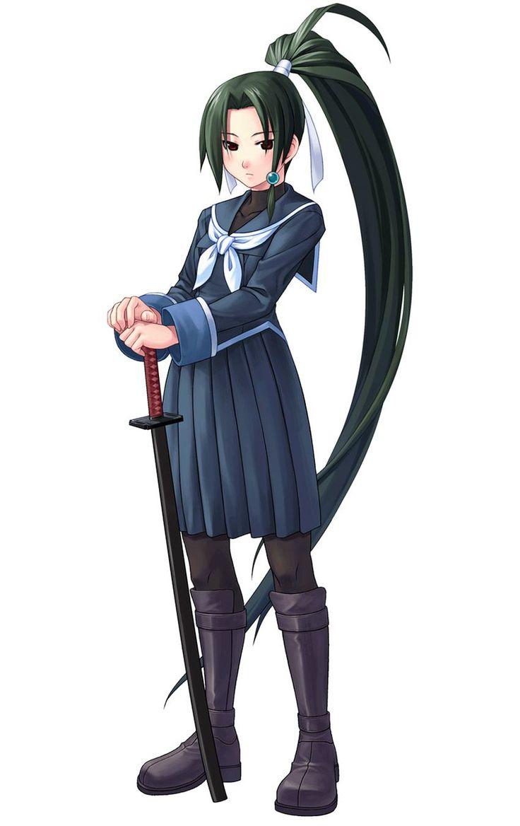Kamui Tokinomiya from Arcana Heart 3
