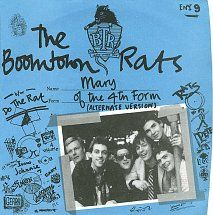 "The Boomtown Rats - ""Mary Of The 4th Form"" / ""Do The Rat"" November 1977"
