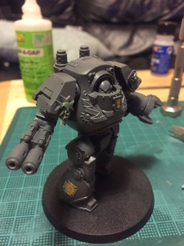 Reposing static dreadnought from Battle at Calth.