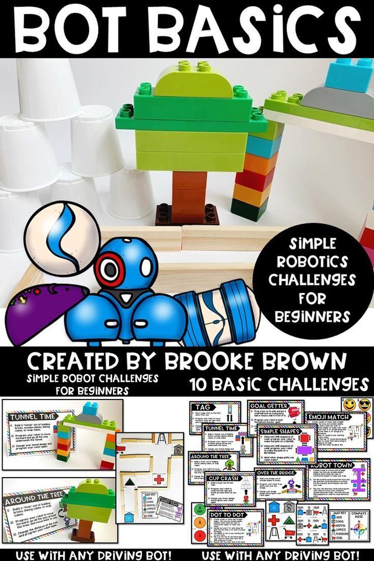 Bot Basics {Robotics for Beginners} | Elementary STEM Activities