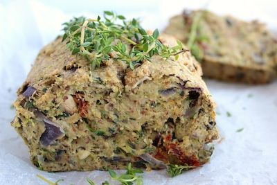 Gluten-Free Herb & Onion Bread recipe from The Fit Foodie. A deliciously satisfying gluten-free loaf, full of wholesome ingredients.