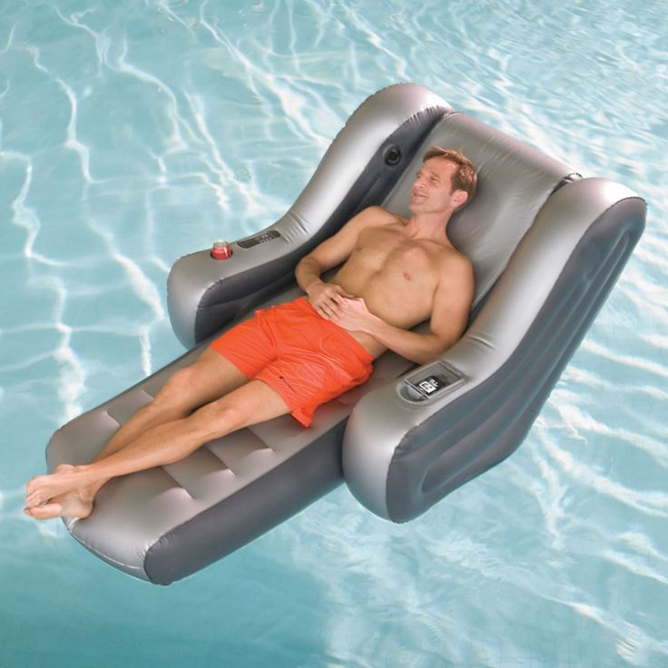 The iPod Stereo Pool Oasis - Hammacher Schlemmer
