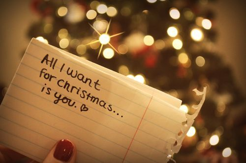 All I want for Christmas is you | christmas | Pinterest