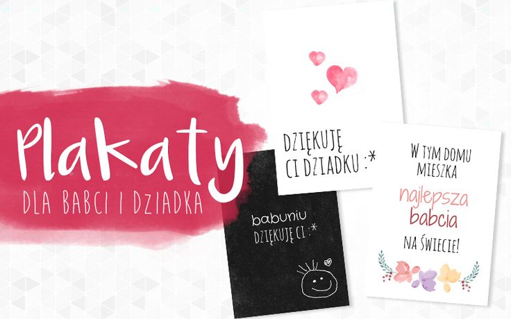 free poster | Plakaty dla babci i dziadka