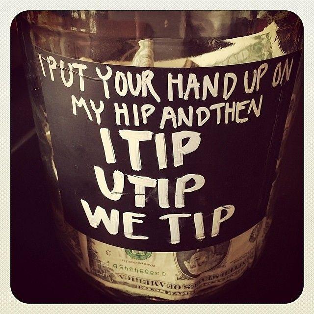Humor Inspirational Quotes For Jar: 25+ Unique Tip Jars Ideas On Pinterest