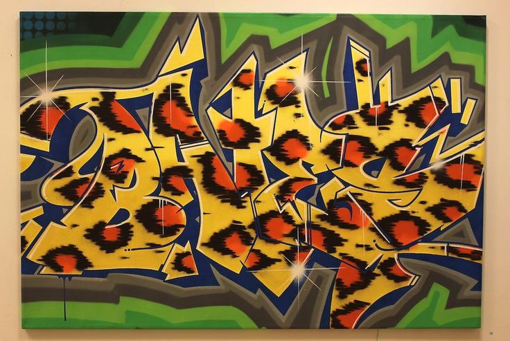 Tiger Skin by @Great_Bates available http://www.urbanartroom.se/product-category/bates/… #graffiti #streetart #urbanartroom #gbg #sthlm #dubai