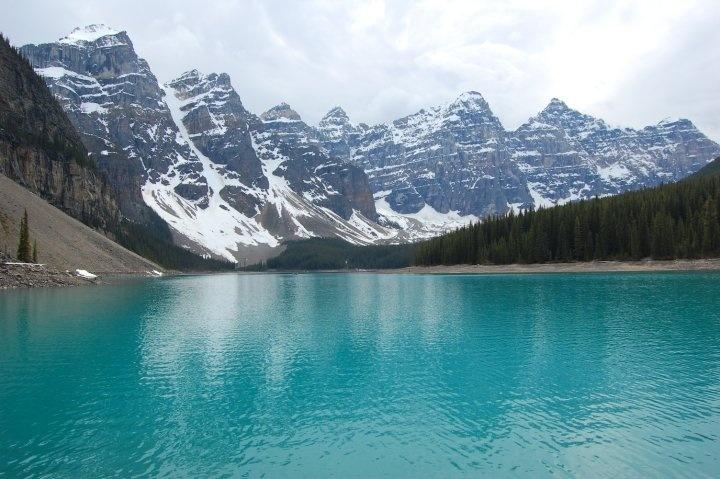 Moraine Lake, Canada. Photo by me.