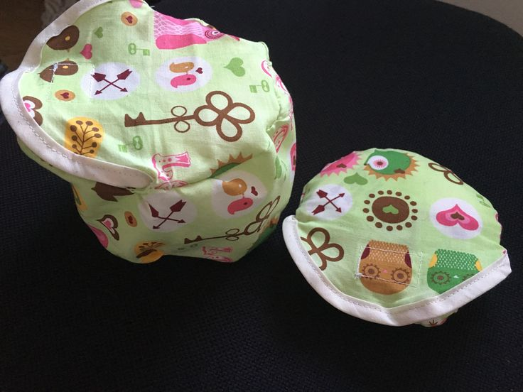 Nursing pad cases. One small and one big.